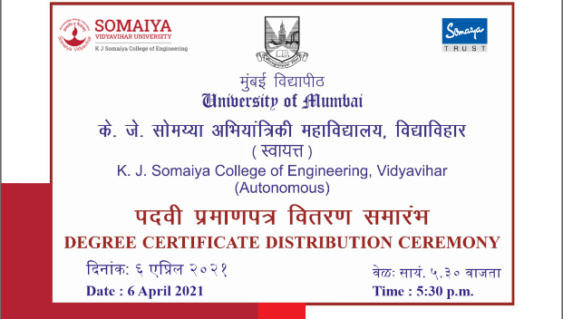 Degree Distribution Ceremony
